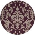 rug #972205 | round pink rug