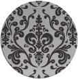 rug #972257   round red-orange traditional rug