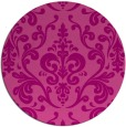 rug #972261 | round pink traditional rug