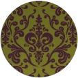 rug #972281 | round purple traditional rug