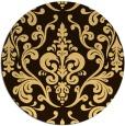 rug #972359 | round traditional rug