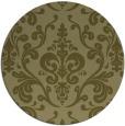 rug #972385   round light-green popular rug