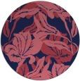 rug #97437   round pink natural rug
