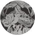 rug #97545 | round red-orange popular rug