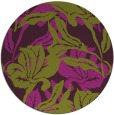 rug #97573 | round purple natural rug