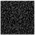 rug #979973   square black damask rug
