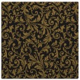 rug #979985 | square mid-brown damask rug