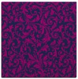rug #980001 | square blue damask rug