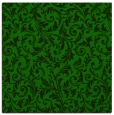 rug #980025 | square green damask rug