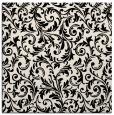 rug #980029 | square blue-green rug
