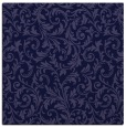 rug #980053   square blue-violet natural rug