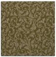 rug #980081   square brown damask rug