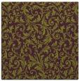rug #980201 | square green damask rug