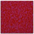 rug #980225 | square red damask rug