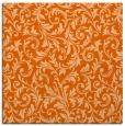 rug #980233   square red-orange natural rug