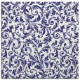rug #980253 | square white damask rug