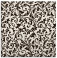 rug #980277   square brown damask rug
