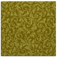 rug #980293 | square light-green damask rug