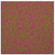 rug #980301 | square pink damask rug