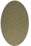 rug #980657 | oval light-green rug