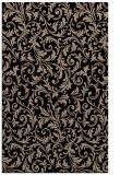 rug #980697 |  black damask rug