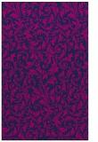 rug #980721 |  blue damask rug