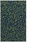 rug #980729 |  blue damask rug