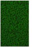 rug #980745 |  green damask rug