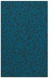 rug #980753 |  blue damask rug