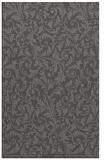 rug #980833 |  brown damask rug