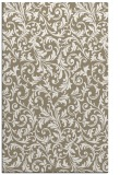 rug #980841 |  mid-brown damask rug