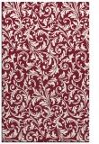 rug #980905 |  pink damask rug