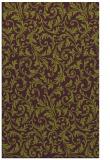 rug #980921 |  purple damask rug