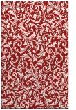 rug #980941    red damask rug