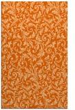 rug #980953 |  red-orange damask rug