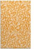 rug #981041 |  light-orange damask rug
