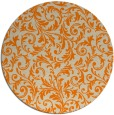 rug #981045 | round beige damask rug
