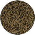 rug #981074   round damask rug