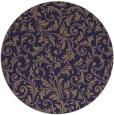 rug #981153   round beige damask rug