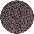 rug #981154 | round damask rug