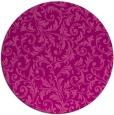 rug #981261 | round pink damask rug