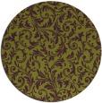 rug #981282 | round damask rug