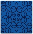rug #981797 | square blue damask rug