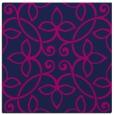 rug #981801   square blue traditional rug