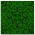 rug #981825 | square green damask rug