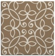 rug #981917 | square beige traditional rug