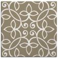 rug #981921 | square mid-brown natural rug