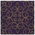 rug #982005 | square purple natural rug
