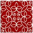 rug #982013 | square red traditional rug