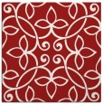 rug #982021 | square red traditional rug